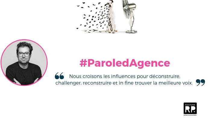 L'agence design branding Curius basée à Paris est dans la presse : Culture RP donne la parole à Pascal Viguier