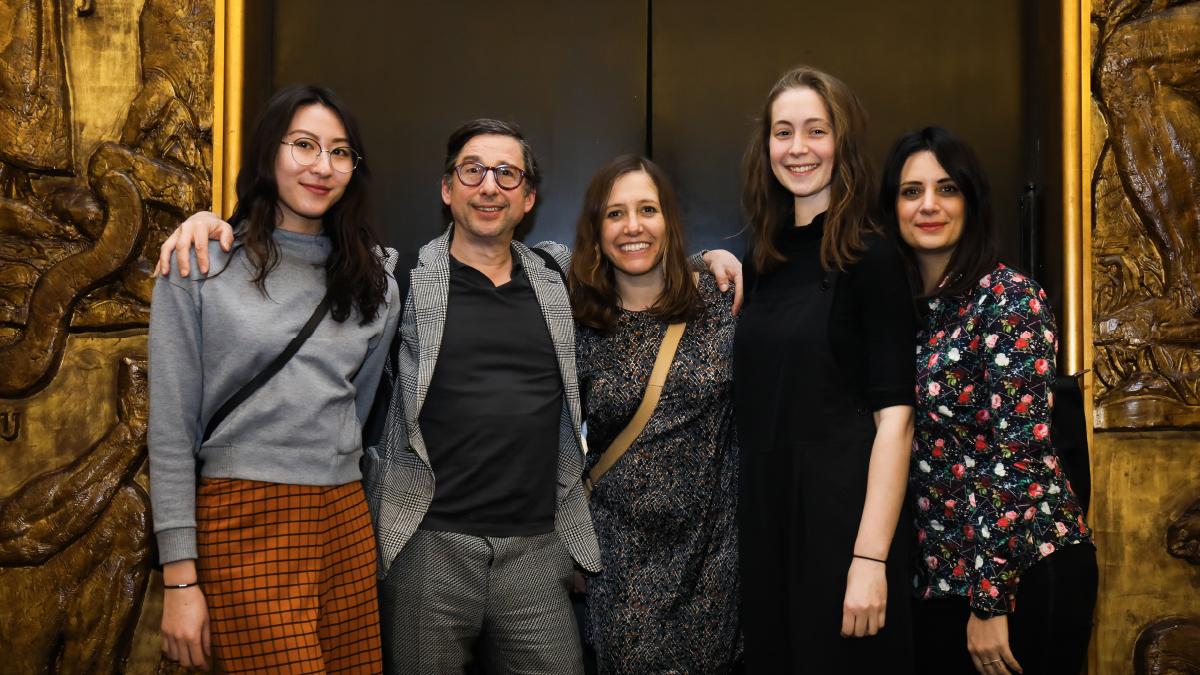 Equipe Curius au Grand Prix Stratégies du Design 2019