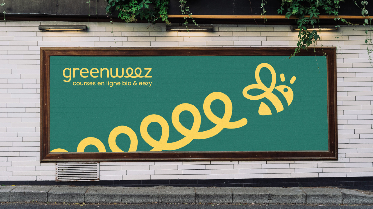 Affiche Greenweez - Designed by Curius