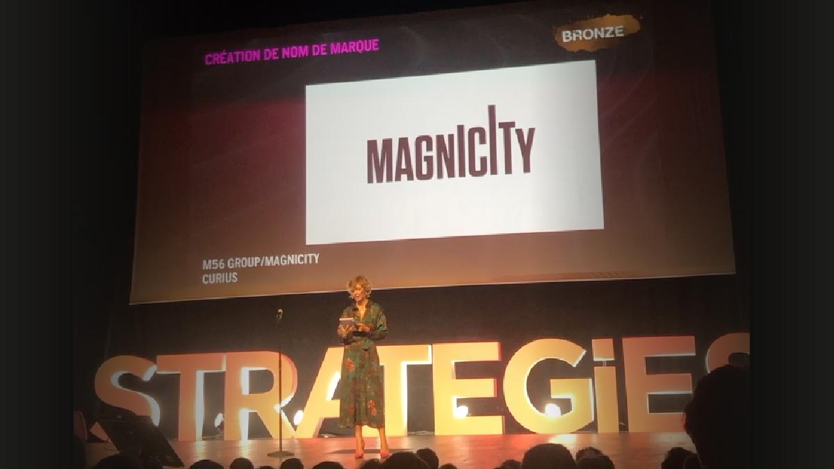 Curius primé au Grand Prix Stratégies pour le naming de Magnicity