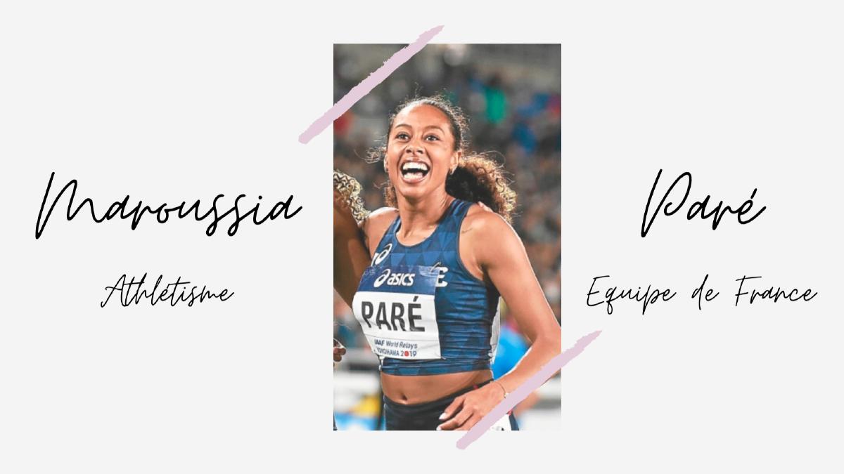 L'athlète Maroussia Paré, quand le branding séduit le sport de haut niveau
