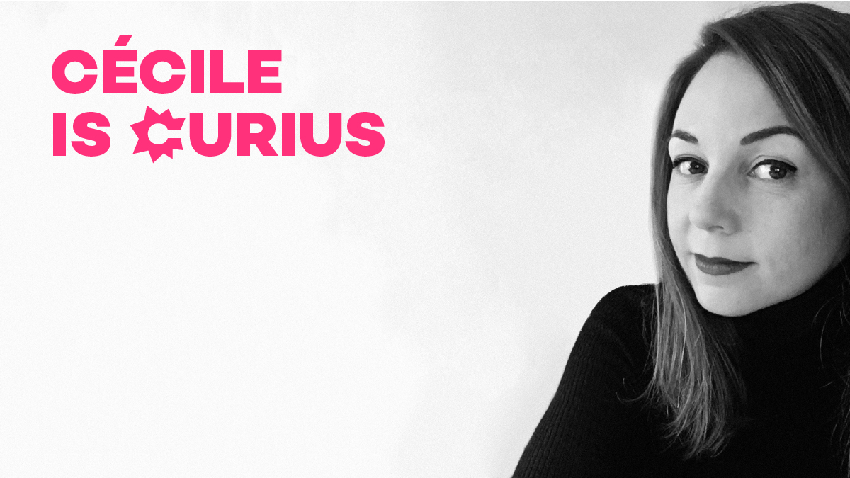 Cécile Le Gurun is Curius, Directrice Design